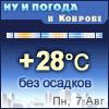 Ну и погода в Коврове - Поминутный прогноз погоды